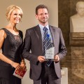 Florian Pickert, Vice President Diabetes AstraZeneca, auf der Preisverleihung