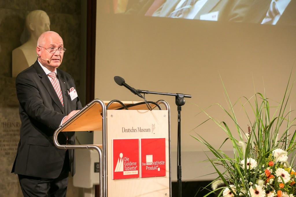 Dr. Dieter Jung, Herausgeber Pharma Barometer, auf dem Festakt